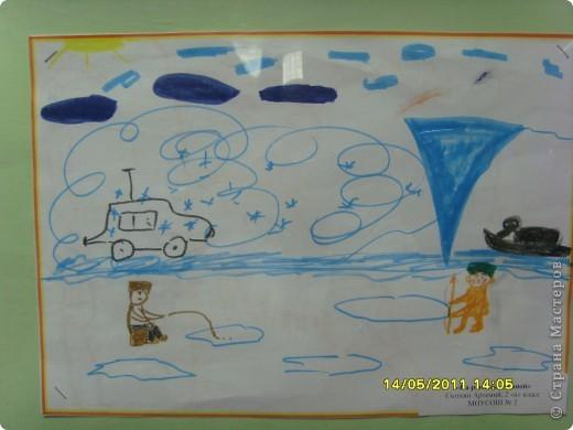 """14 мая наш благотворительный фонд """"Вера, Надежда, Любовь""""  провел выставку рисунков детей с ограниченными возможностями здоровья, посвященную Дню семьи """" Я+Моя семья=Мой мир"""" фото 16"""
