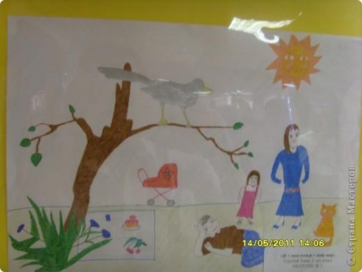 """14 мая наш благотворительный фонд """"Вера, Надежда, Любовь""""  провел выставку рисунков детей с ограниченными возможностями здоровья, посвященную Дню семьи """" Я+Моя семья=Мой мир"""" фото 20"""