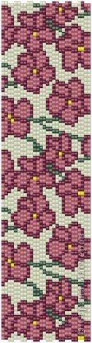 В первый раз попробывала двойное мозаичное плетение. Сделала для сестры браслет. фото 12