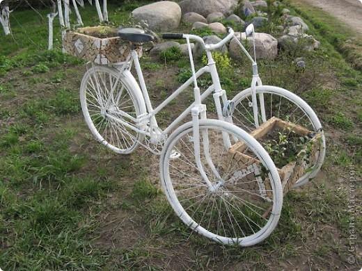 Вот такой трёхколёсный велосипед соорудили из обычного... фото 1