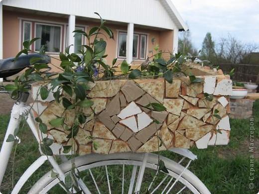 Вот такой трёхколёсный велосипед соорудили из обычного... фото 4