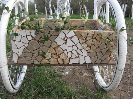 Вот такой трёхколёсный велосипед соорудили из обычного... фото 6