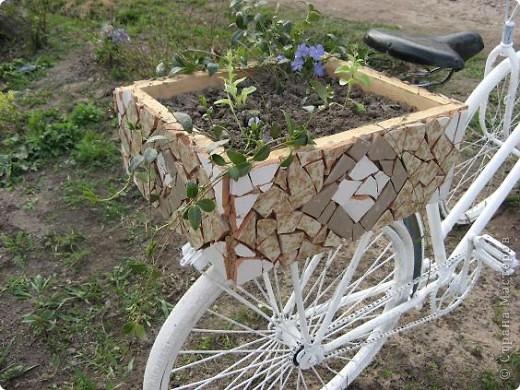 Вот такой трёхколёсный велосипед соорудили из обычного... фото 7