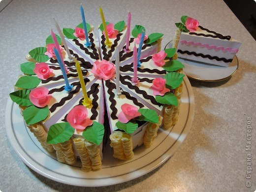 """Не смогли мы устоять перед искушением и """"угостили"""" наших друзей тортиком в день рождения дочки.   фото 2"""
