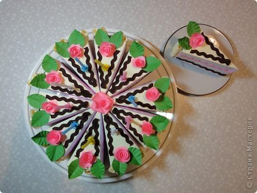 """Не смогли мы устоять перед искушением и """"угостили"""" наших друзей тортиком в день рождения дочки.   фото 1"""