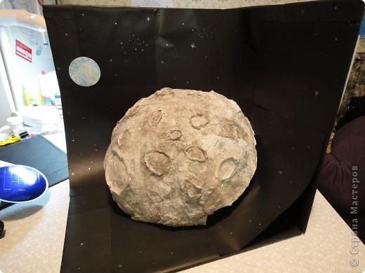 Продолжаем отчет о нашем космическом проекте. Начало здесь http://stranamasterov.ru/node/191800 Это - Земля в иллюминаторе ;) фото 11