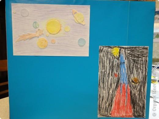 Продолжаем отчет о нашем космическом проекте. Начало здесь http://stranamasterov.ru/node/191800 Это - Земля в иллюминаторе ;) фото 6