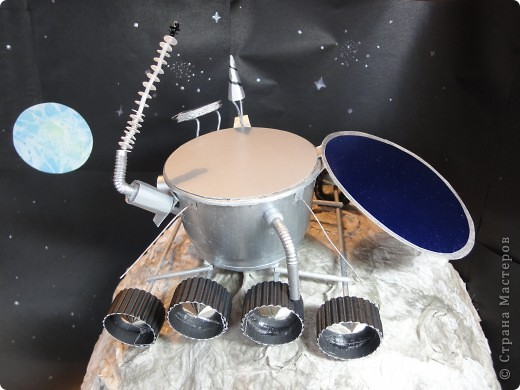 Продолжаем отчет о нашем космическом проекте. Начало здесь http://stranamasterov.ru/node/191800 Это - Земля в иллюминаторе ;) фото 13