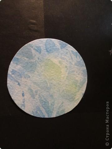 Продолжаем отчет о нашем космическом проекте. Начало здесь http://stranamasterov.ru/node/191800 Это - Земля в иллюминаторе ;) фото 1