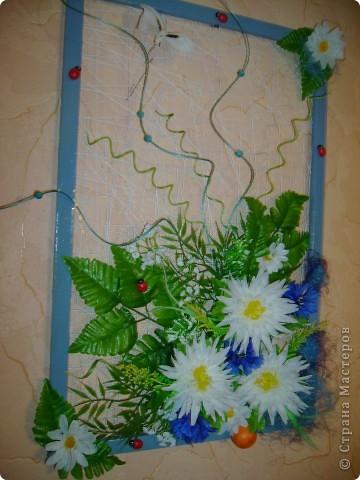 композиция в голубом фото 2