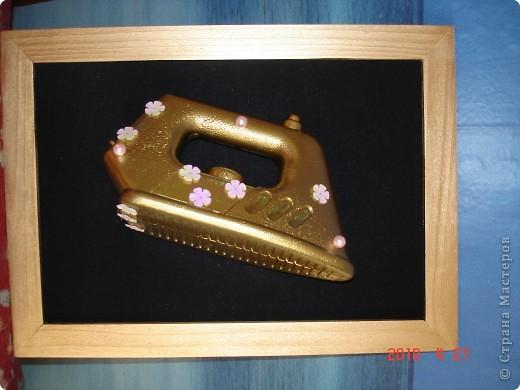 Этот гламурный утюг был подарен прачке детского сада на выпускном моей доченьки фото 1