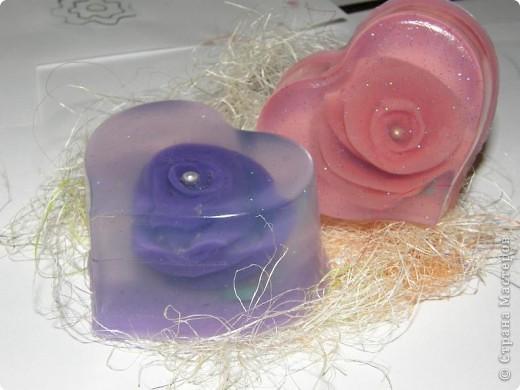 Сувенирное мыло ручной работы «Нежность»