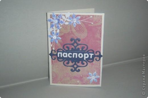 обложка для паспорта фото 2