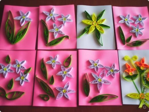Эти открыточки сделали Настенька Л. и её мама. фото 2
