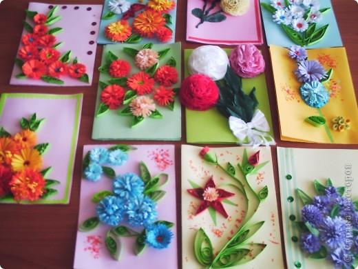 Эти открыточки сделали Настенька Л. и её мама. фото 3