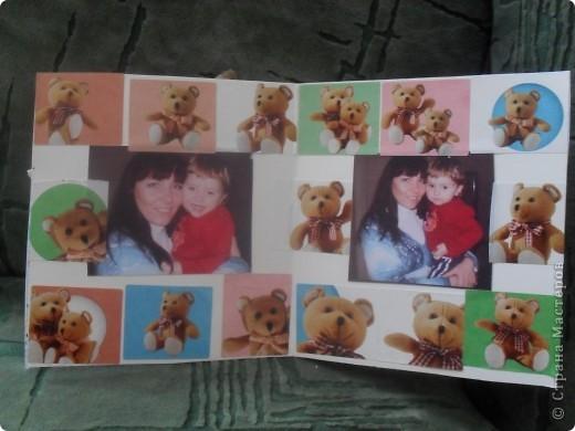 Сделали с младшим открытку в подарок кресной(моя двоюродная сестра) фото 2