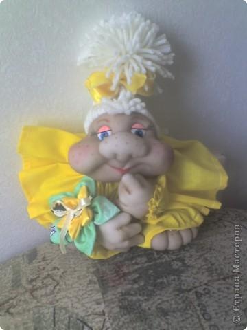 А, вот и моя кукла на удачу!