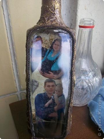 """Кожанная"" бутылка фото 1"