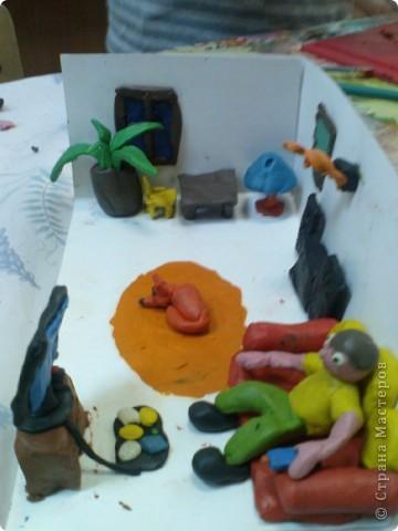 морская комната(делал мальчишка,ион уже ждет лето! фото 9