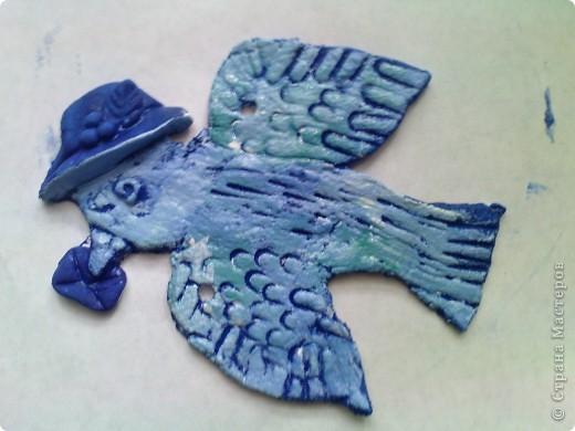 сегодня решили раскрашивать фигурки необычным способом,загрунтовать синей краской((вместо обычной коричневой. фото 8