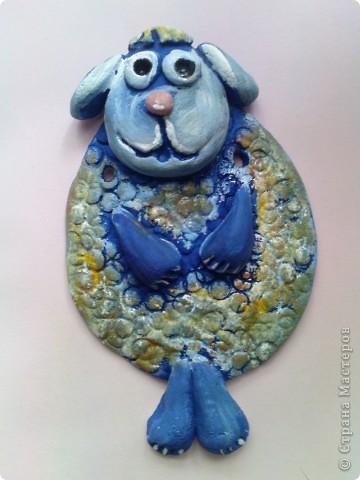 сегодня решили раскрашивать фигурки необычным способом,загрунтовать синей краской((вместо обычной коричневой. фото 10