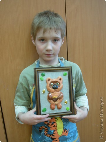 Игорёк 7 лет. Работы оформляла я. фото 4