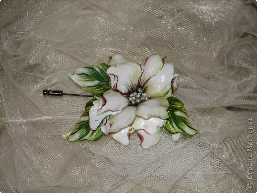 Мой первый цветок в технике 3d декупаж =)) фото 2