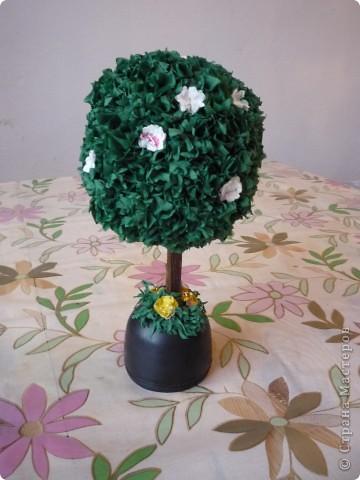 Мое первое дерево.Сделанно было как пособие для урока. фото 2