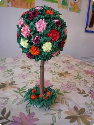 Мое первое дерево.Сделанно было как пособие для урока. фото 4