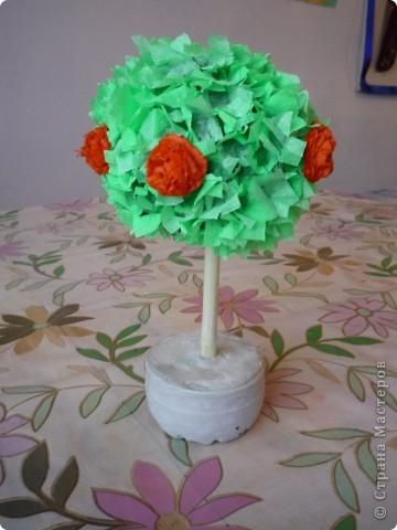 Мое первое дерево.Сделанно было как пособие для урока. фото 6