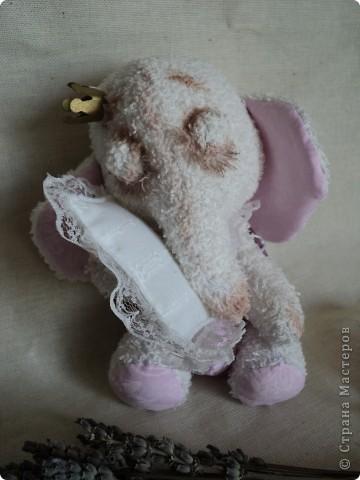 махровый слоник ароматизированный натуральной лавандой!!! фото 3
