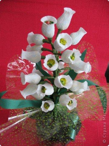 Вот такие сладкие подарки ребята сделали на праздник гостям. фото 1