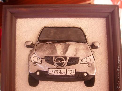 Авто.Ниссан Кашкай.Соленое тесто.
