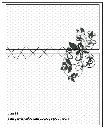 Открытка сделана по скетчу 63 с сайта http://sasya-sketches.blogspot.com/2011/05/ss63.html фото 6