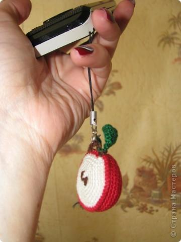 Яблочко-брелочек-подвеска фото 2