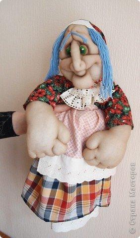 Бабуля-Ягуля (кукла-пакетница)