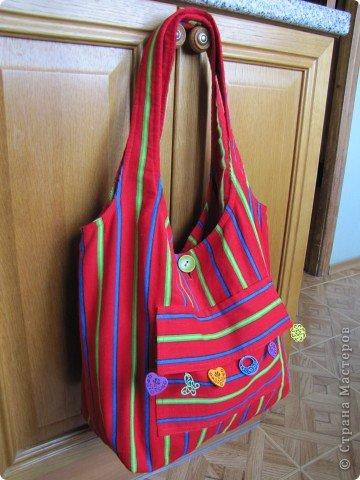 Шила сумку в качестве презента-дополнения к подарку на день рождения сестры. фото 19