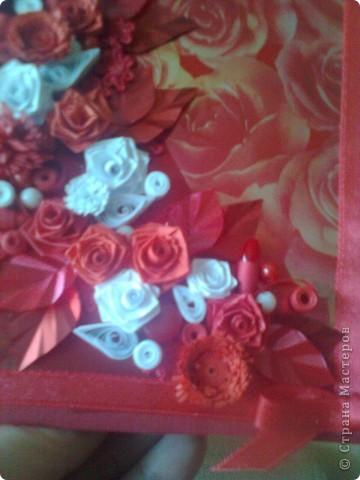 червени рози фото 3