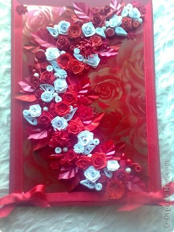 червени рози фото 2