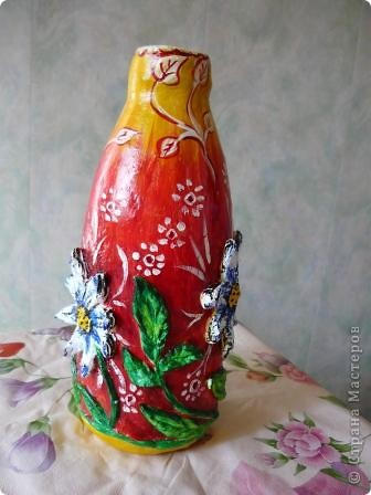 Моя первая вазочка  фото 4