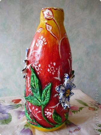 Моя первая вазочка  фото 5