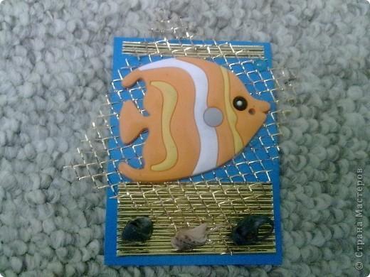 Золотая рыбка в золотой клетке А рыбки то быстренько и уплыли. фото 3