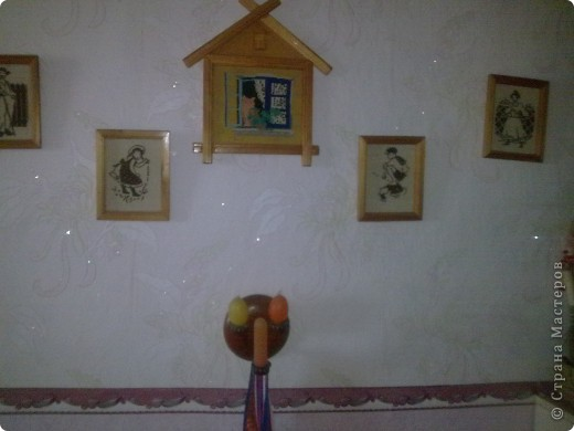Вышивками  увешаны многие стены в нашей квартире, но эта серия самая любимая фото 1