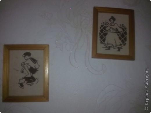 Вышивками  увешаны многие стены в нашей квартире, но эта серия самая любимая фото 3