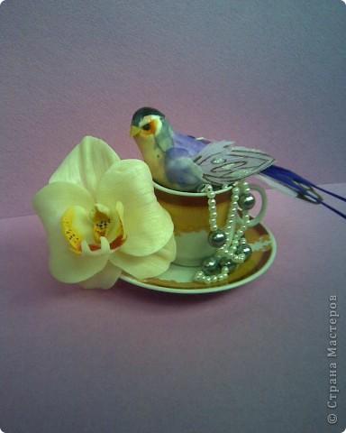 """Когда-то давно увлекалась цветами из ткани и соленым тестом и насколько помню всегда любила делать орхидеи. И теперь,увидев орхидеи Стеллы,""""не могу спокойно спать"""",за что ей огромное спасибо,потому что это развивает думалку))).Но молда у меня нет и поэтому """"голь на выдумки хитра"""" - ниже покажу свой """"позор"""" или точнее историю """"как я искала,чем бы таким заменить молд""""))))))) фото 3"""