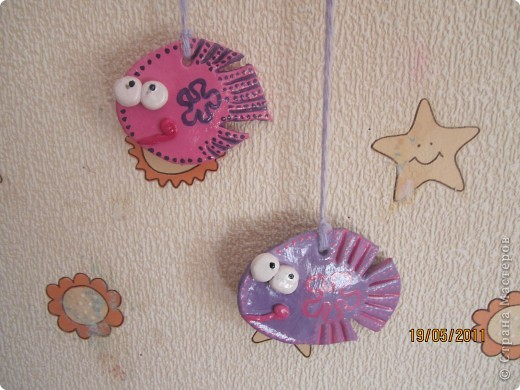 """рыбка """"ловец снов"""" фото 2"""