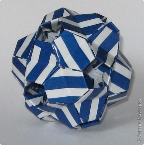 Здравствуйте! Igel curled, автор: Екатерина Лукашева Схема: http://kusudama.me/#/Spikes/Igel_curled/igel3 фото 4