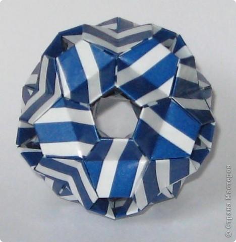 Здравствуйте! Igel curled, автор: Екатерина Лукашева Схема: http://kusudama.me/#/Spikes/Igel_curled/igel3 фото 3