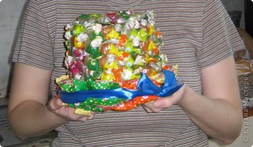 Вот такая конфетная шляпа досталась моей двоюродной сестре на День рождения фото 3