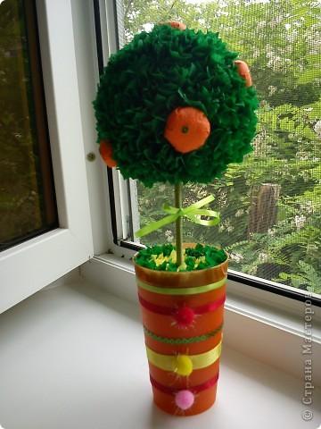 Хочу порадовать всех новыми работами. Эти деревца  сделала моя мама . У нее нет компьютера и поэтому я решила их показать на своей страничке. Это  ее первые творения. По моему  получилось здорово?!  фото 6